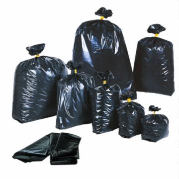 Sacchetti neri per rifiuti
